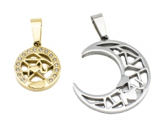 2 Pcs Stainless Steel Pendant PS-0951 PS-0951 PS-0951 PS-0951