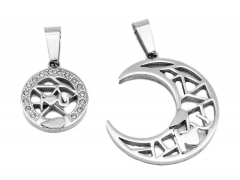 2 Pcs Stainless Steel Pendant PS-0951A PS-0951A PS-0951A PS-0951A