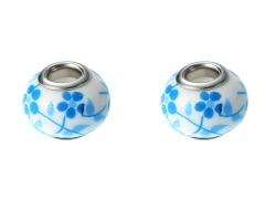 2PCS Stainless Steel Bead For Jewelr