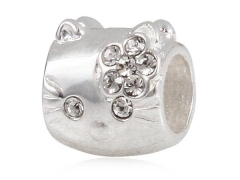 Sterling Silver Bead For Jewelry
