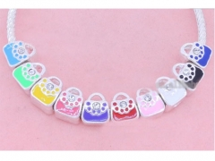 5Pcs Jewelry Parts With CZ