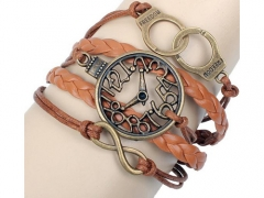 Fashion Alloy Leather Bracelet