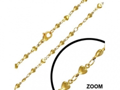 Gold Stainless Steel Chain