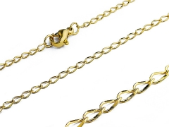 Small Stainless Steel Gold Chain
