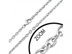 4mm Small Steel Necklace