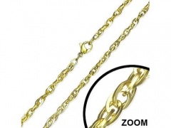 3mm Small Steel Gold Chain