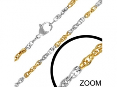 Stainless Steel Two Tone Chain