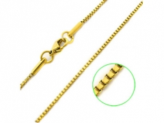 Stainless Steel Ip Gold Box Chain