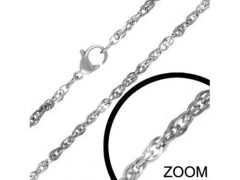 2mm Small Steel Necklace