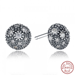 NEW Presents 925 Sterling Silver Cosmic Stars Stud Earrings Clear CZ Fashion Jewelry Special Store PAS417