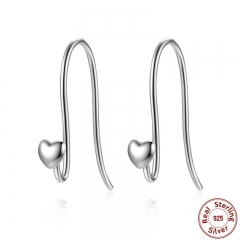 925 Sterling Silver Heart Classic Brand Earrings Jewelry for Women Fine Jewelry Femme Brincos PAS468