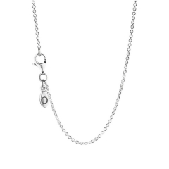 45cm Pan 925 Silver Necklace