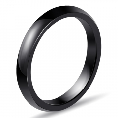 Stainless Steel and Ceramic Ring 3mm