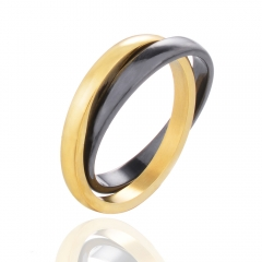 Stainless Steel and Ceramic Ring