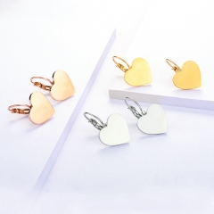 3pcs Stainless Steel Earrings