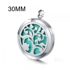Stainless Steel Essential Oil Diffuser Pendant PS-1126