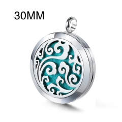 Stainless Steel Essential Oil Diffuser Pendant PS-1124