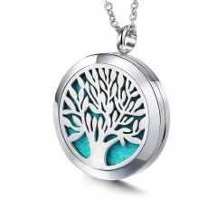 Stainless Steel Essential Oil Diffuser Pendant PS-1121