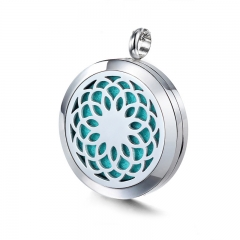 Stainless Steel Essential Oil Diffuser Pendant PS-1128