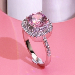 Fashion Copper Ring with CZ Stones JZ335 FARI-224