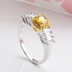 Fashion Copper Ring with CZ Stones FARI-173 FARI-173