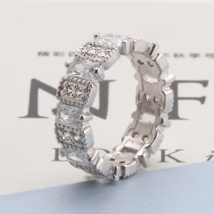 Fashion Copper Ring with CZ Stones FARI-170 FARI-170