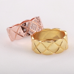 Fashion Copper Ring with CZ Stones FARI-212 FARI-212