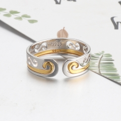 Fashion Copper Ring with CZ Stones FARI-211 FARI-211