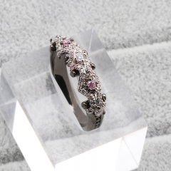 Fashion Copper Ring with CZ Stones FARI-196 FARI-196