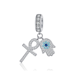 925 Sterling Silver Pendant Charms   BSC084 (2)