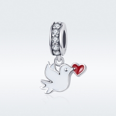925 Sterling Silver Pendant Charms   SCC1227-2
