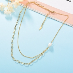 Stainless Steel Necklace NS-0712