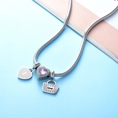 Stainless Steel Necklace PNS-0034