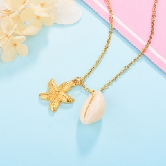 Stainless Steel Necklace NS-0741