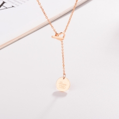 Stainless Steel Necklace NS-0450C