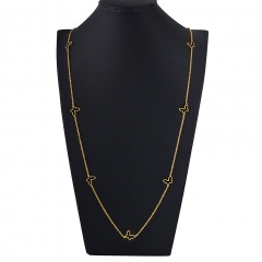 Stainless Steel Necklace Lenght 90cm NS-1008A