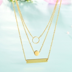 Stainless Steel Necklace    NS-0746