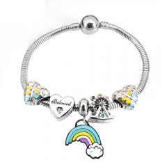 Stainless Steel Charms Bracelet Y265220