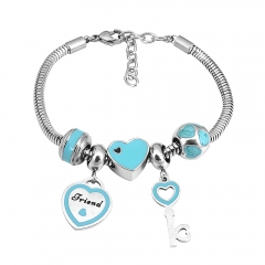Stainless Steel Charms Bracelet  L165140