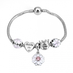Stainless Steel Charms Bracelet Y255210