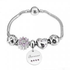 Stainless Steel Charms Bracelet Y256230