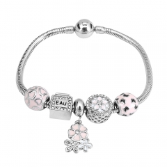 Stainless Steel Charms Bracelet Y265188