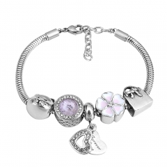 Stainless Steel Charms Bracelet  L215106