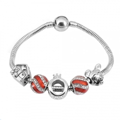 Stainless Steel Charms Bracelet Y255221