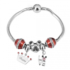 Stainless Steel Charms Bracelet Y250225