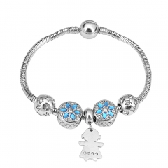 Stainless Steel Charms Bracelet Y255180