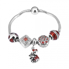 Stainless Steel Charms Bracelet Y265160