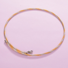 Gold & Silver Color Stainless Steel Chain CH-011D