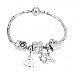 Stainless Steel Charms Bracelet Y270107