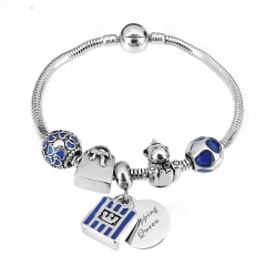 Stainless Steel Charms Bracelet Y265231